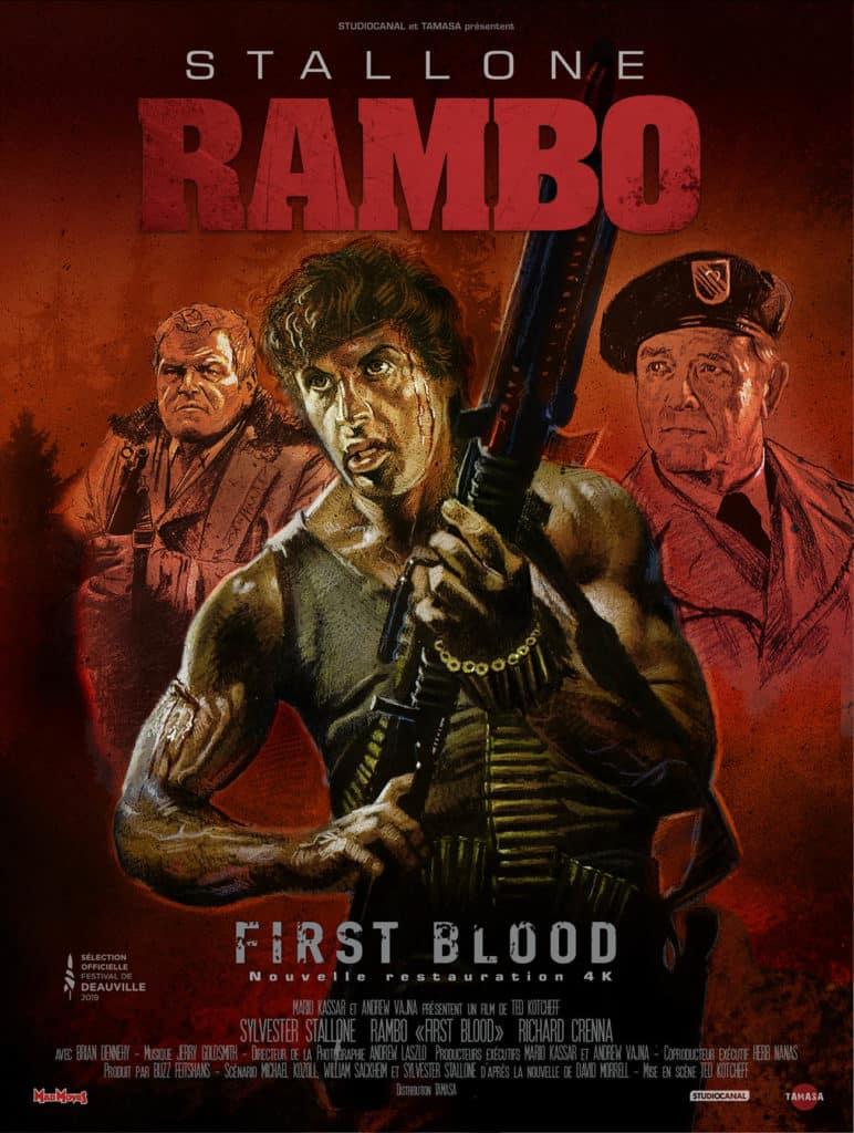 Affiche 2019 de Rambo First Blood