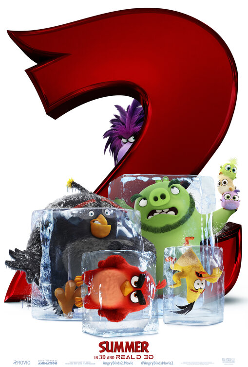 Angry Birds 2 affiche teaser américaine