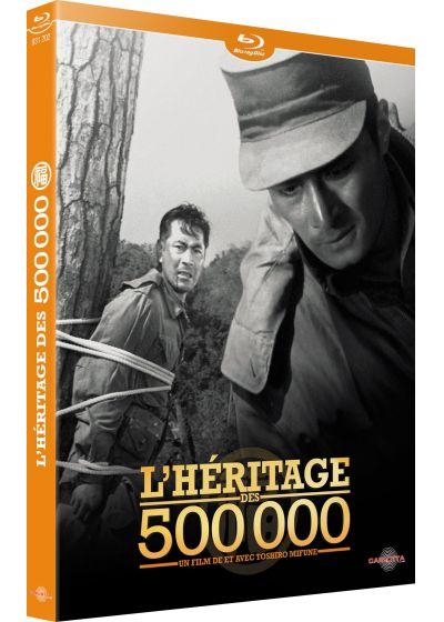 L'héritage des 500 000, jaquette du blu-ray