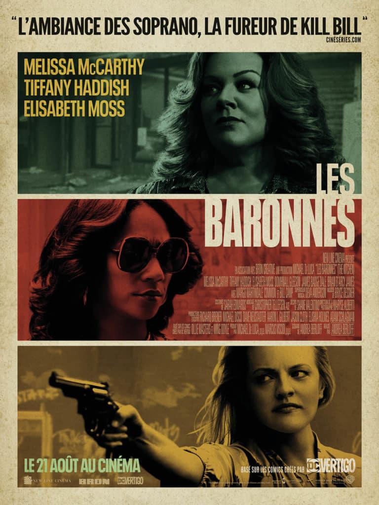 Affiche française des Baronnes, avec Melissa McCarthy