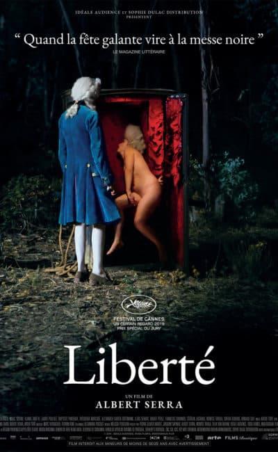 Affiche officielle du film d'Albert Serra, Liberté