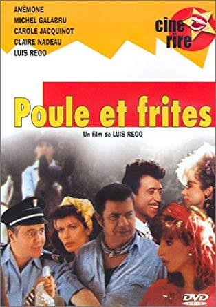 L'horrible jaquette DVD de Poule et Frites, en 1983