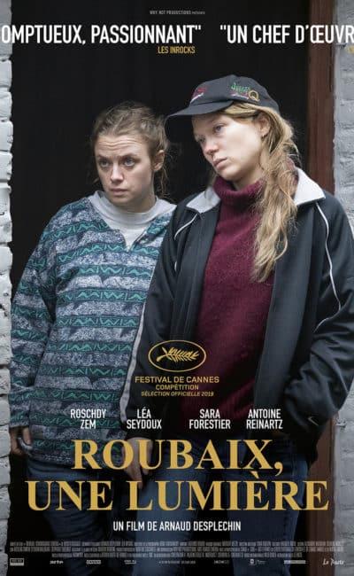 Affiche de Roubaix une lumière, avec Léa Seydoux