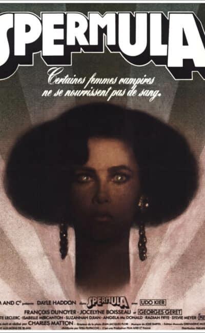 Affiche française du film Spermula