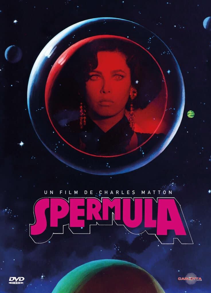DVD du film Spermula, par Carlotta (2018)