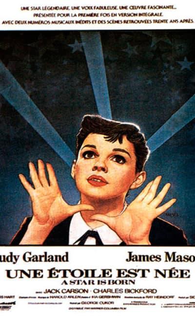 Affiche de Une étoile est née de George Cukor