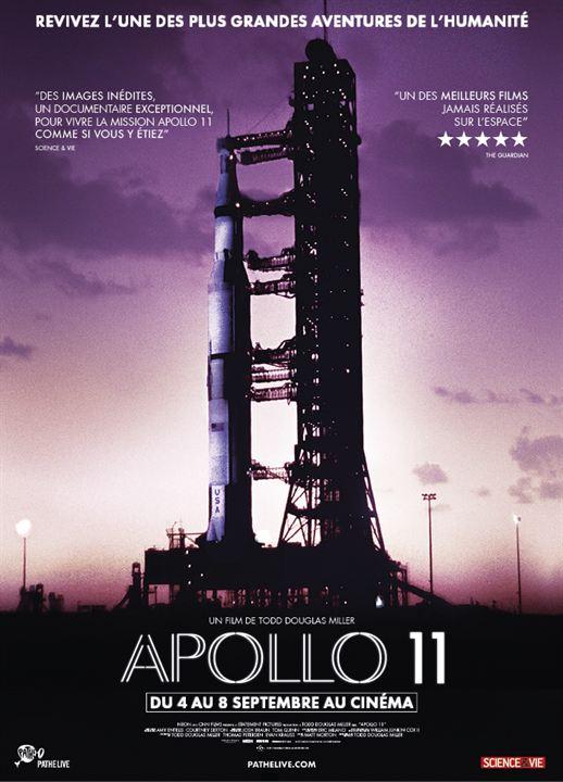 Apollo 11 à l'affiche de cinéma Pathéaffiche