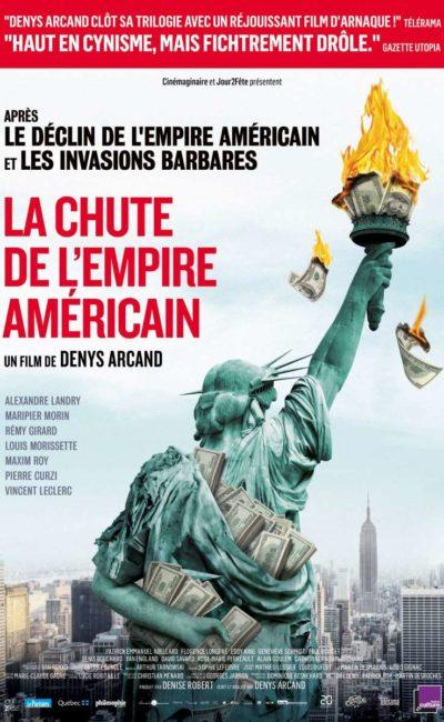 La chute de l'empire américain, l'affiche
