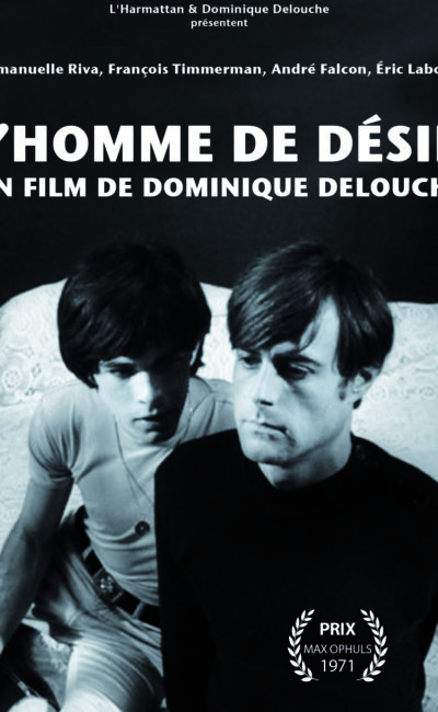 Jaquette 2017 de L'homme de Désir de Dominique Delouche