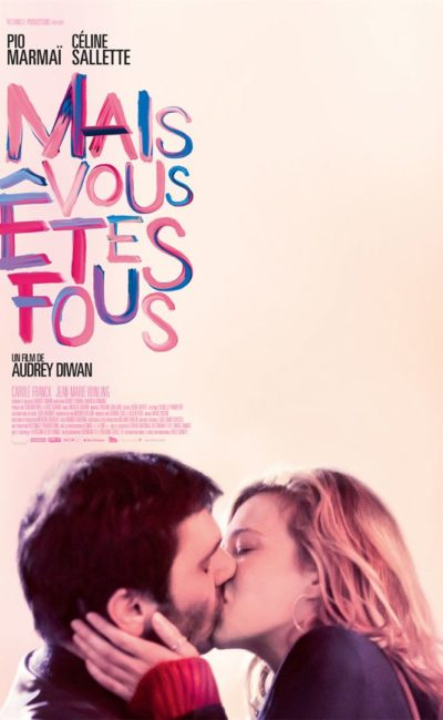 Mais vous êtes fous, affiche du film (Rectangle Productions)
