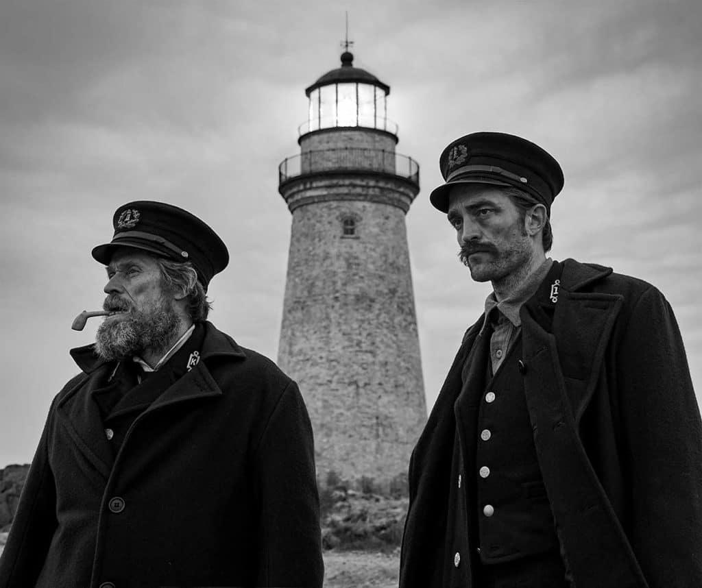 Robert Pattinson et Willem Dafoe dans The Lighthouse