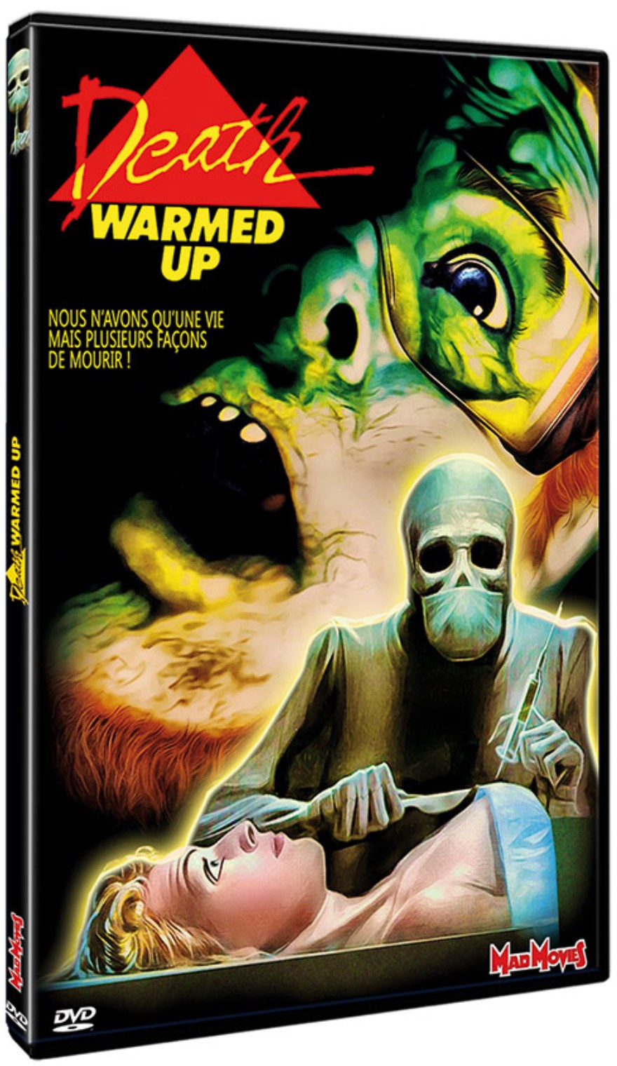 Death Warmed Up , jaquette DVD 2020