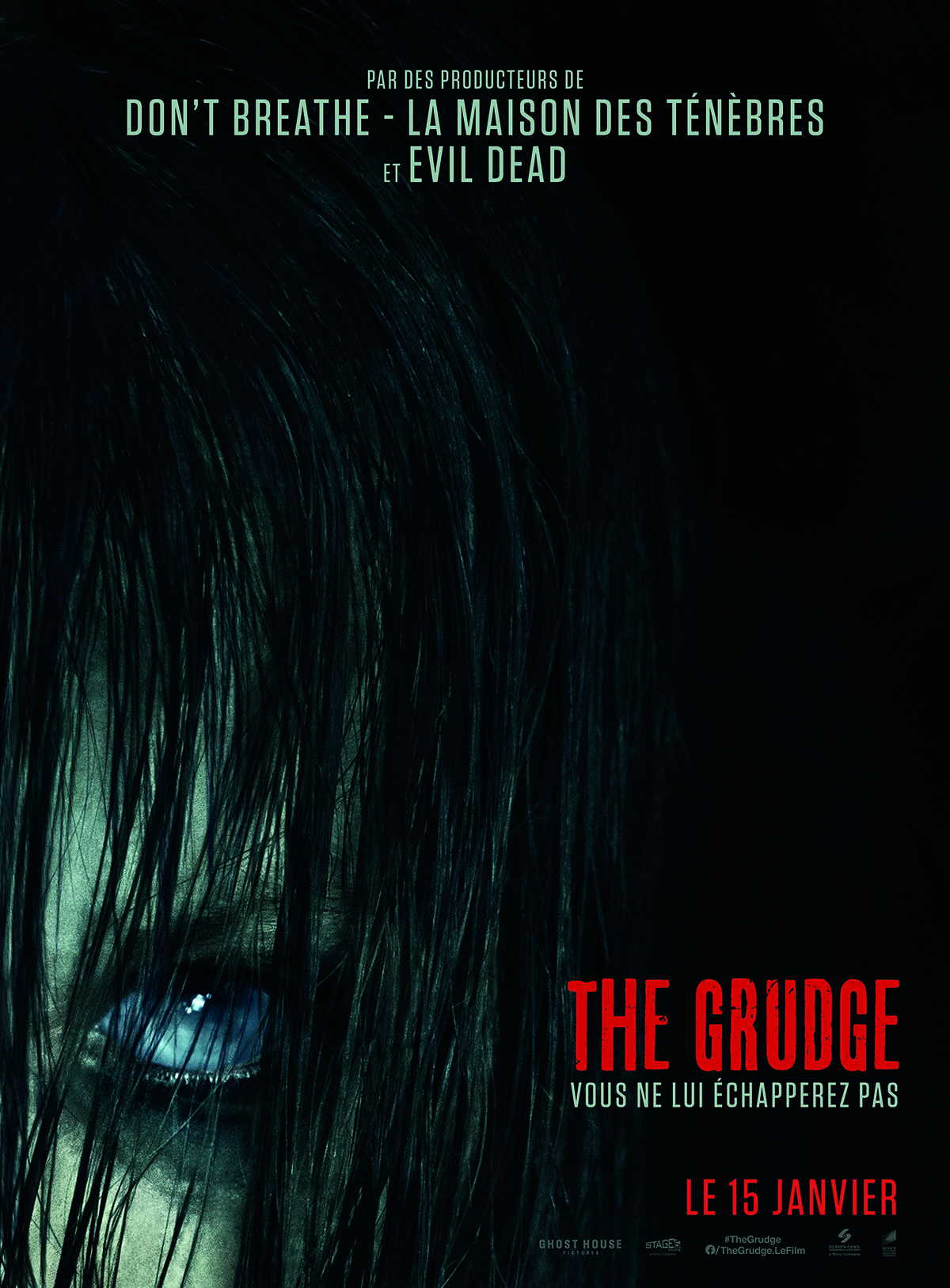 The Grudge affiche du remake 2020