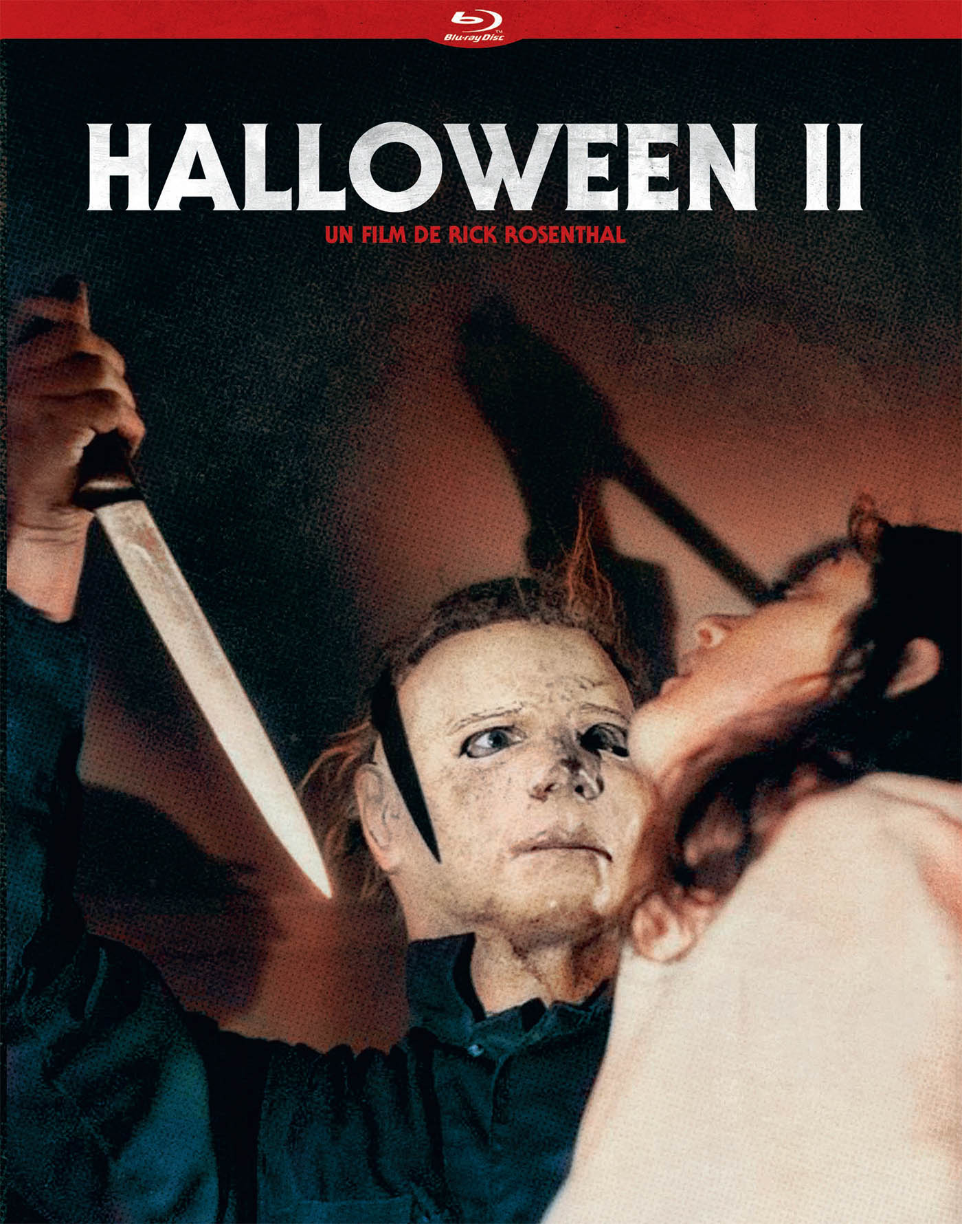 Jaquette blu-ray d'Halloween 2 (éditions du chat qui fume)