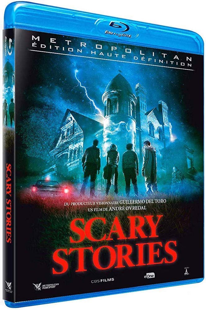 Scary Stories, la jaquette blu-ray