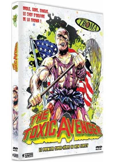 The Toxic Avenger IV Citizen Toxie, jaquette Bach