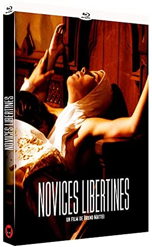 Les novices libertines, jaquette blu-ray